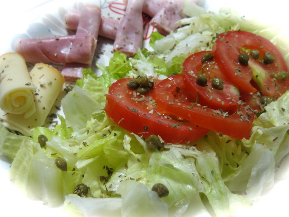 Ham&Cheese salad