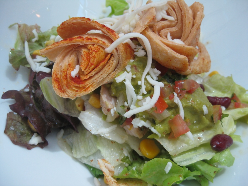 Santa-Fe chicken salad