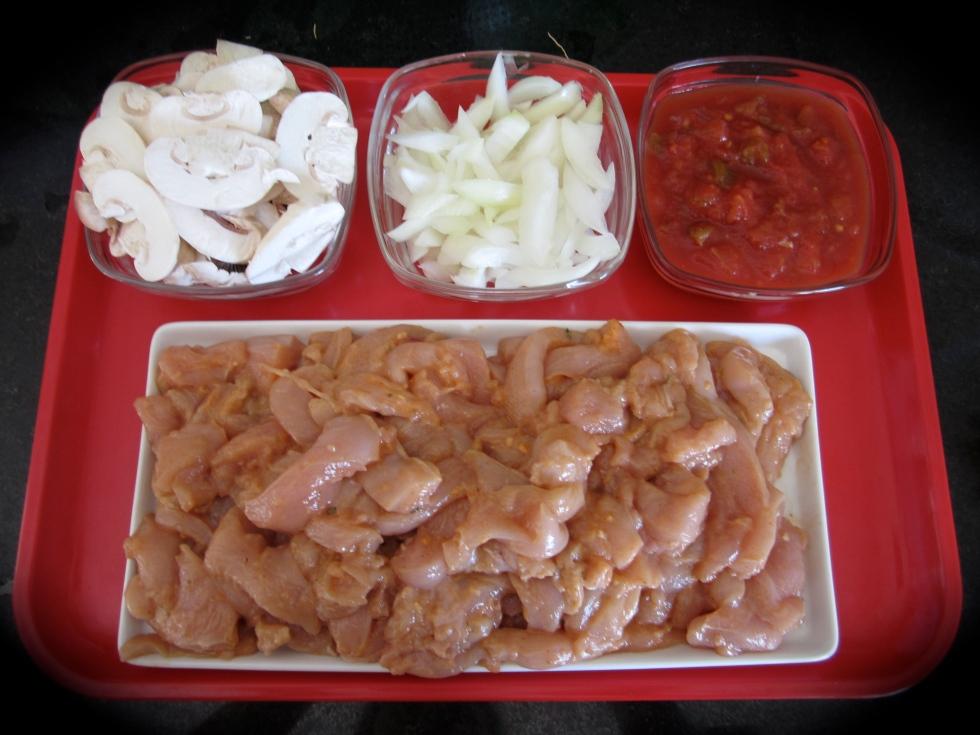 Chicken fajitas ingredients