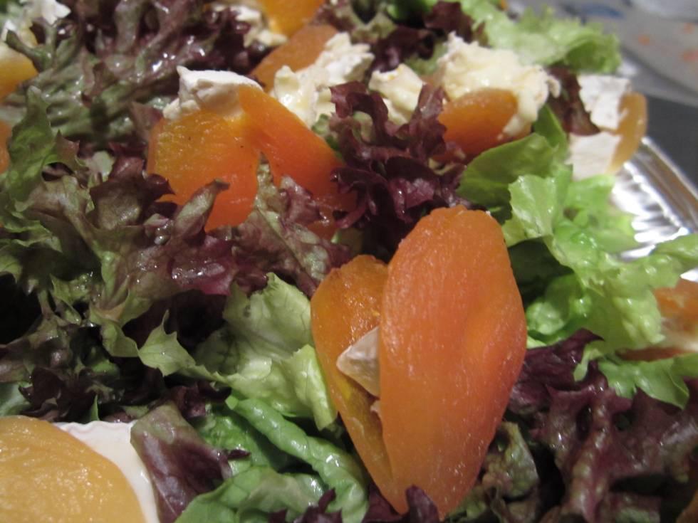apricots salad