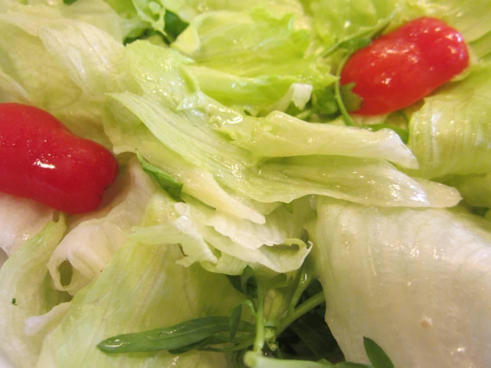 Green salad cafe marguot