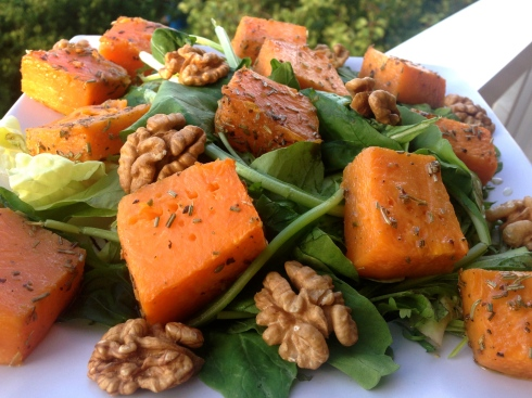 Pumpkins salad
