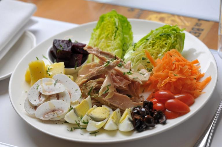 Salade decomposee Le Petit Gris
