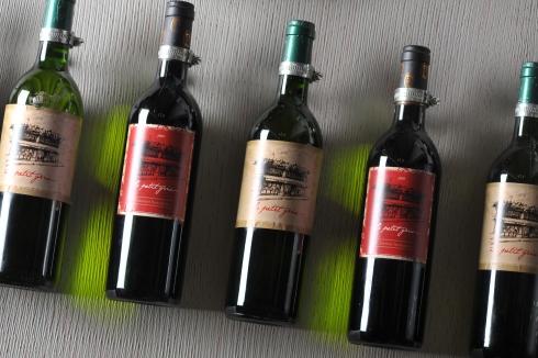LPG Wine bottles